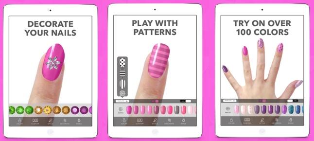 montage virtual nails